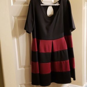 Striped Tshirt/Skater Dress